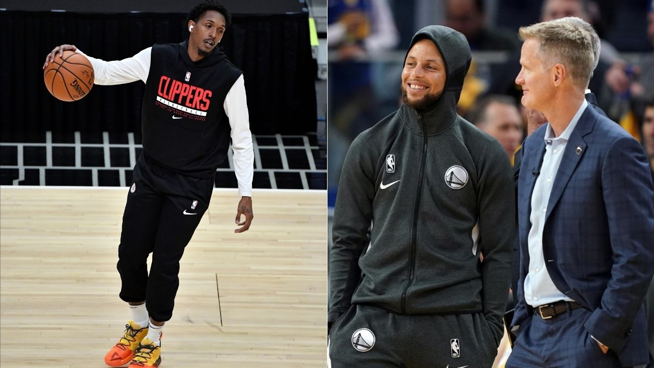 """""""That's what America wants to know"""": Warriors coach Steve Kerr hilariously answers pre-game interview question on how to guard Clippers' Lou Williams"""