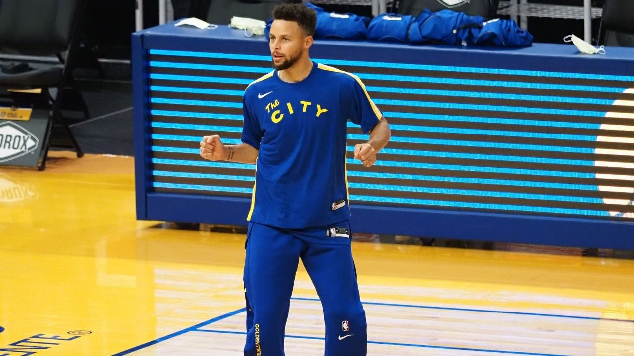 'Steph Curry uses sandbag weights below ribcage to lower heart rate': Warriors star uses insane diaphragm technique to maintain spectacular conditioning