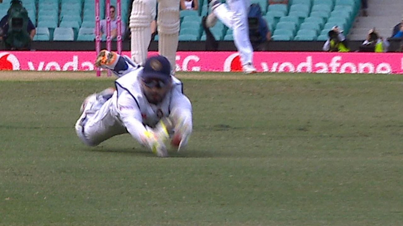 Rishabh Pant drop catches today: Watch Pant gives two reprieves to Will Pucovski in Sydney Test