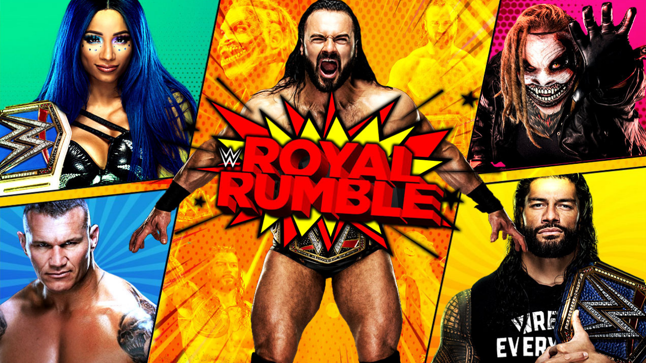WWE Royal Rumble 2021: Date, Time, Match Card, Live Stream & Broadcast  Channel | The SportsRush