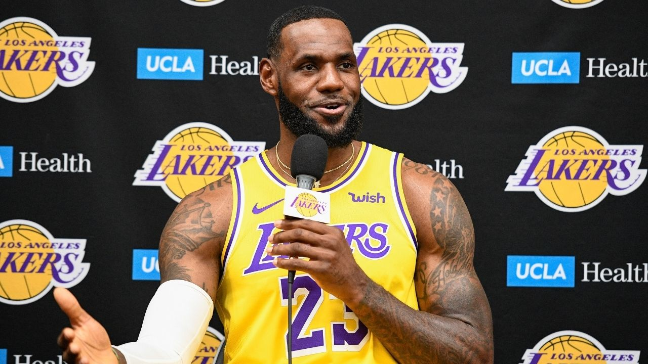"""""""LeBron James is hyped for Space Jam 2"""": Lakers superstar releases new-look teaser on Instagram ahead of James Harden's Nets debut"""