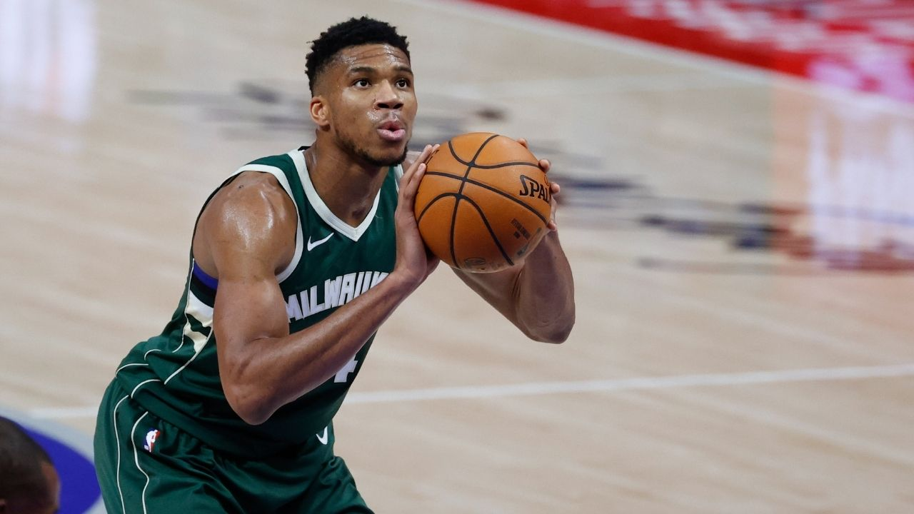 """""""If Giannis Antetokounmpo missed a free throw, his girlfriend would run carrying his son"""": Why Bucks star's offseason mantra to improve his free throw shooting isn't working"""