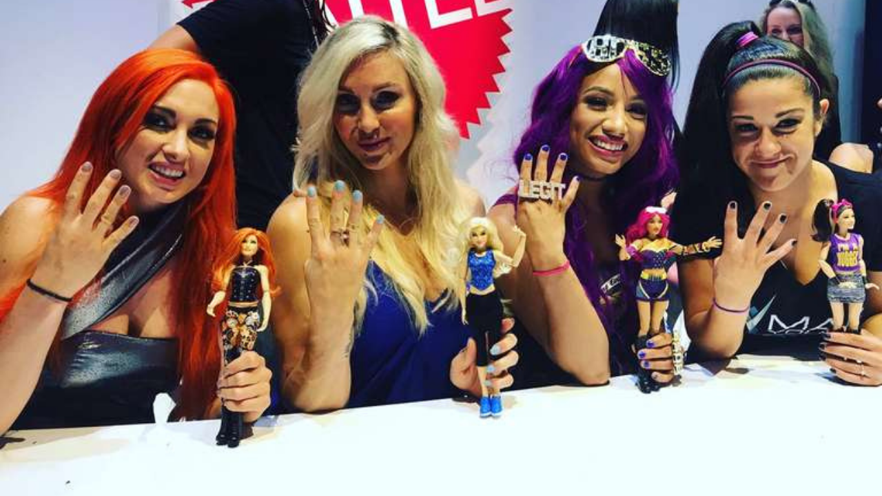Bayley reveals that she was never close with the other Four Horsewomen