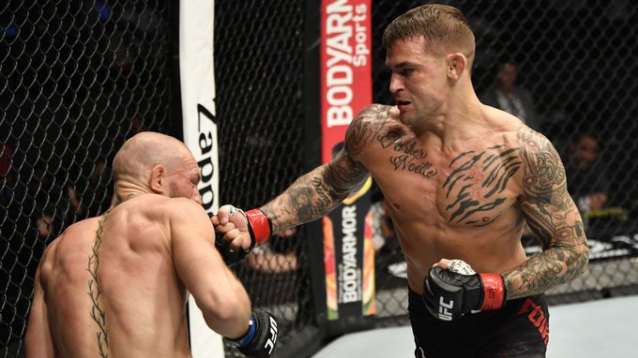 Twitter reacts to Dustin Poirier TKO win over Conor McGregor at UFC 257