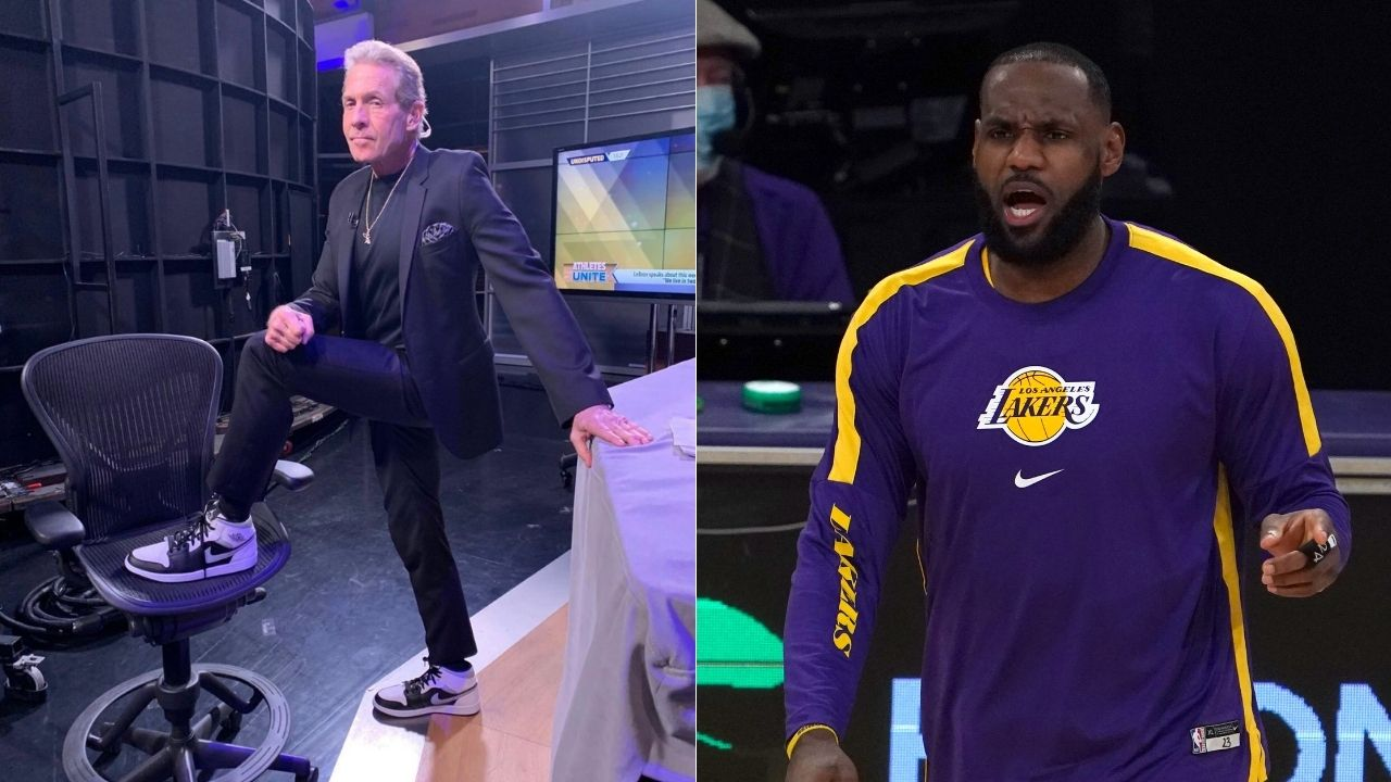 """""""LeBron James will never win another championship"""": Skip Bayless explains why Lakers star will fall short of Michael Jordan's 6 titles after James Harden trade"""