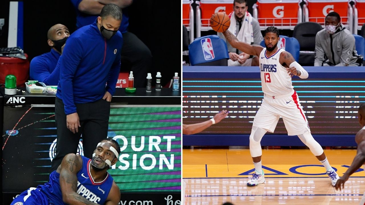 """""""Paul George needs to stop taking bad shots"""": Ty Lue puts Kawhi Leonard and Clippers on blast after blowing 20-point lead and losing to Steph Curry's Warriors"""