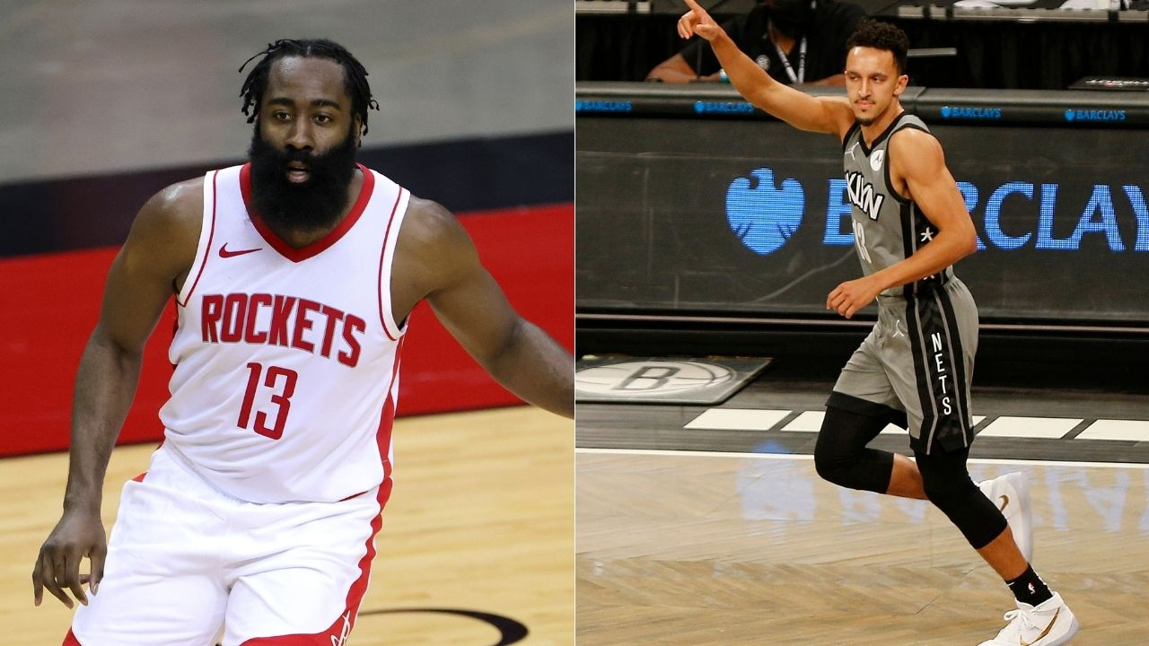 """""""Landry Shamet, how much do you want for number 13?"""": James Harden hilariously tries to bribe Brooklyn Nets teammate for his old jersey number"""