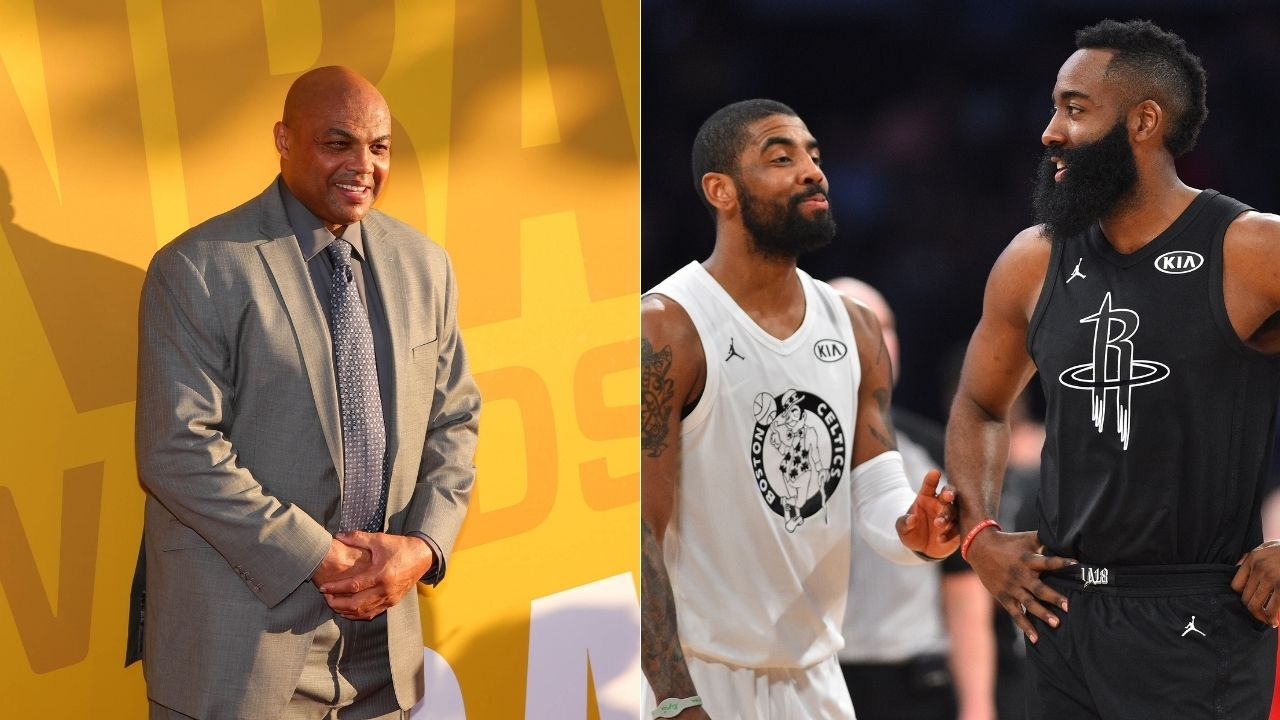 """""""Kevin Durant went from Splash brothers to Dribble brothers"""": Charles Barkley hilariously roasts Brooklyn Nets guards Kyrie Irving and James Harden"""