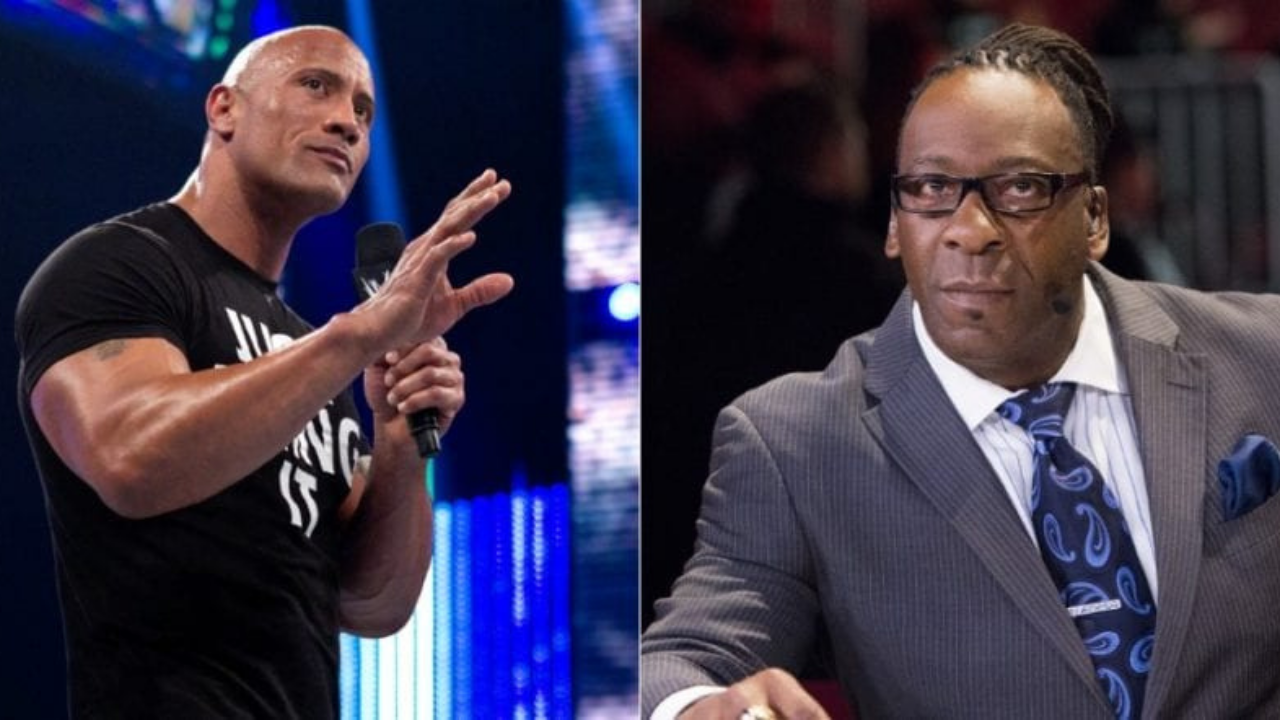 Booker T claims The Rock stole a number of his catchphrases