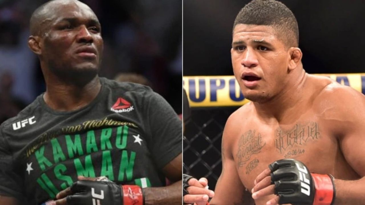 """""""Me and Kamaru had over 200 rounds sparring, at least"""": Gilbert Burns reflects on the time when he and the current UFC Welterweight champion Kamaru Usman trained together"""