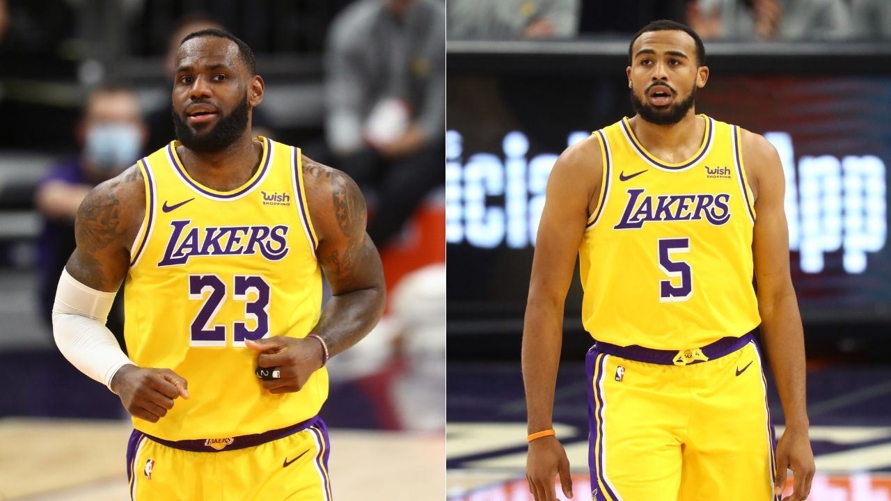 """""""Talen Horton-Tucker is mature beyond his years"""": LeBron James hypes up Lakers youngster following great performance off the bench against James Harden's Rockets"""