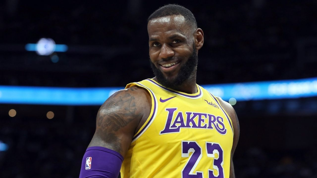 """""""Dennis Schroder contested Kemba Walker's shot well"""": LeBron James opens up about Lakers' narrow win over Celtics and breaking their losing streak"""