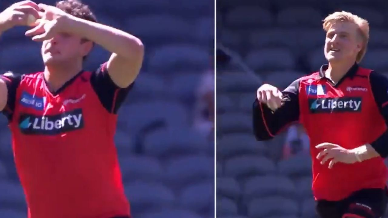 Peter BBL 10: Melbourne Renegades' Will Sutherland emulates Peter Hatzoglou's bowling action