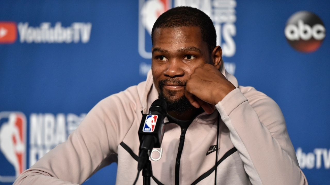 """""""Godzilla needs to be load managed"""": Kevin Durant makes hilarious NBA comparison for cartoon creature in response to release of 'Godzilla vs Kong' trailer"""