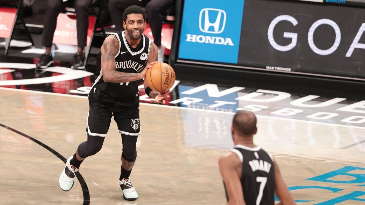 """""""Kyrie Irving is an all-world player"""": Kevin Durant raves about his Nets teammate after his 18-point 4th quarter to beat Bam Adebayo's Heat"""