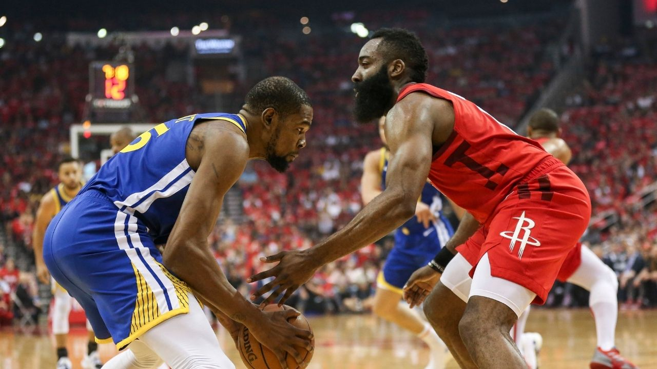 """""""James Harden has to win a ring in 2021 or it's a bust"""": Shaquille O'Neal goes off on Kevin Durant and Kyrie Irving's newest Nets teammate"""