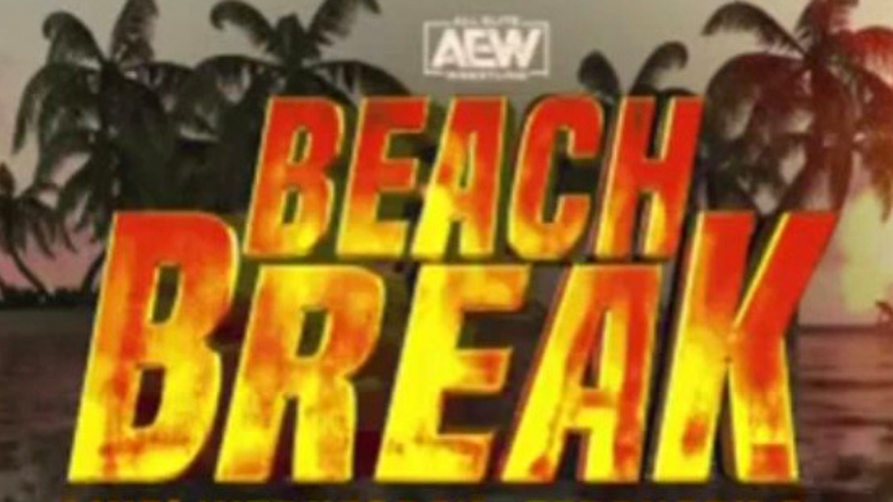 AEW announce main event for next month's Beach Break special