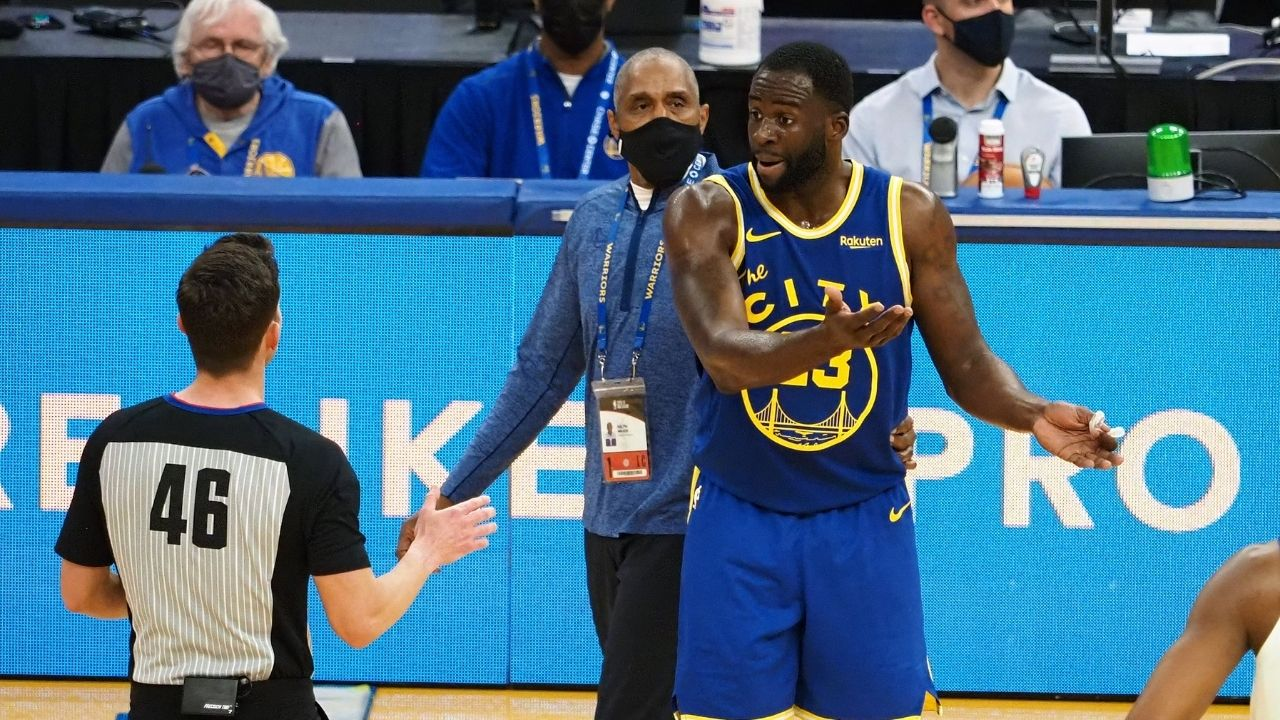 'LeBron James put the league on notice against Draymond Green': Steph Curry and Warriors left fuming after DPOY is ejected for shouting at James Wiseman