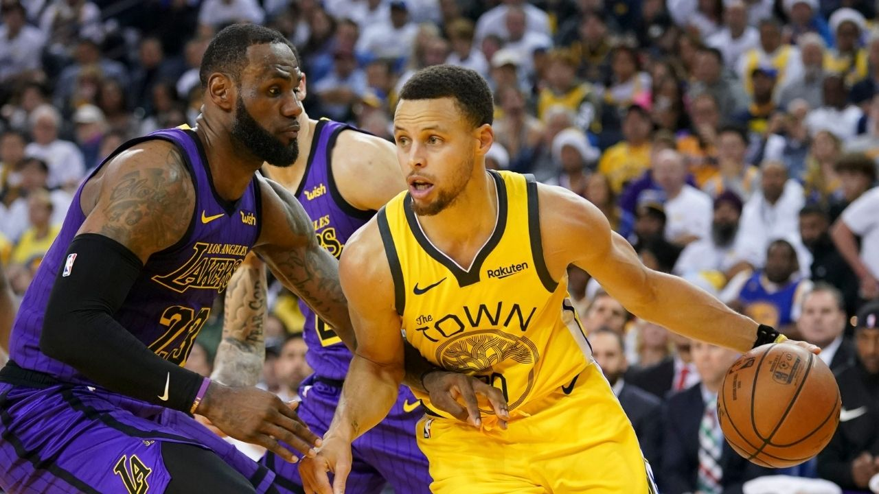 """""""Yeah, Stephen Curry knows how to play"""": When Lakers' LeBron James went to Davidson College to see Warriors star in 2009"""