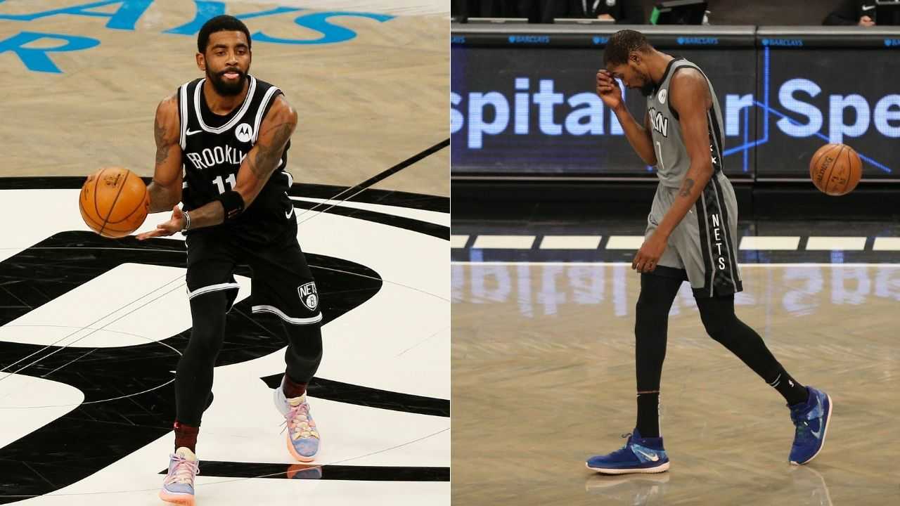 """Kyrie Irving has violated Kevin Durant's trust"": Stephen A Smith attacks Nets star for being an absent running mate after"