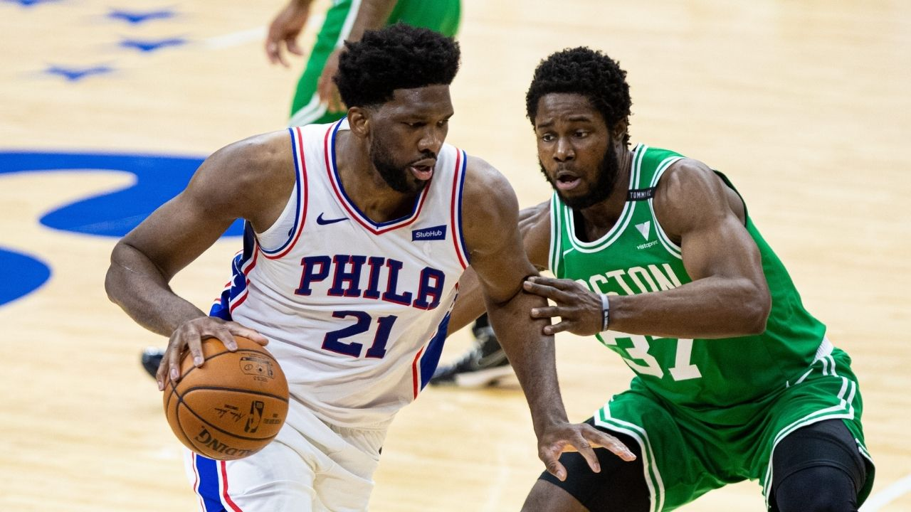 """""""Marcus Smart told me that?"""": Joel Embiid gets back at Celtics guard after Smart called the Sixers star a flopper"""
