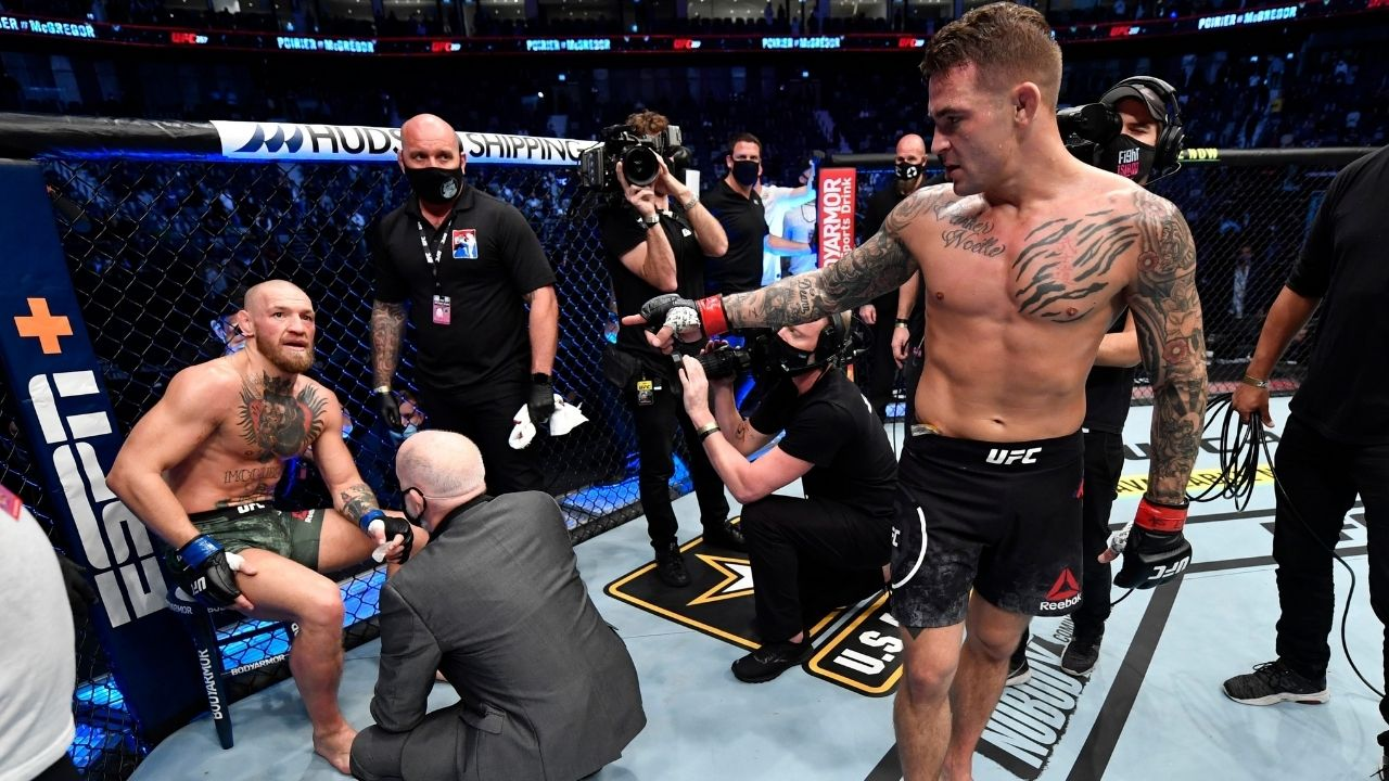 Conor McGregor leg injury: What really happened to Conor's leg at UFC 257 main event against Dustin Poirier
