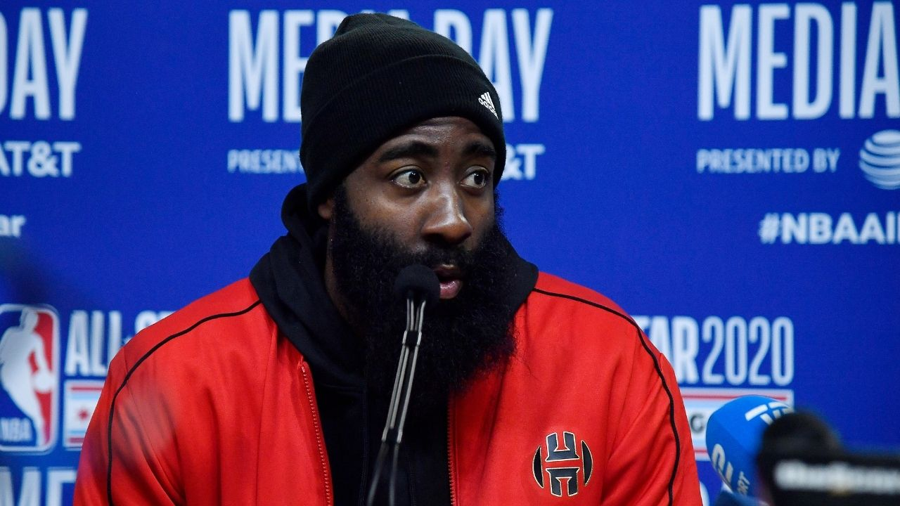 8-time NBA All-Star James Harden likes an Instagram meme on the strippers situation in Houston after moving to Brooklyn.
