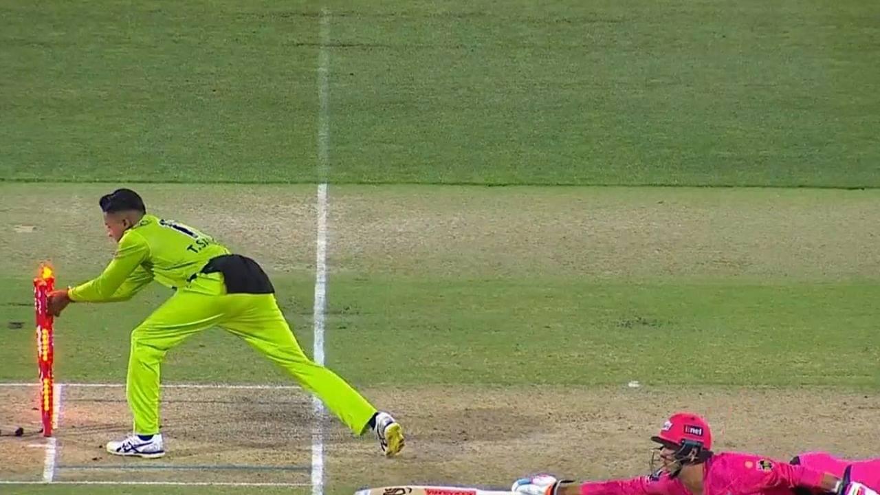 Sangha cricket: Callum Ferguson's sharp fielding runs out Josh Philippe in BBL 2020-21