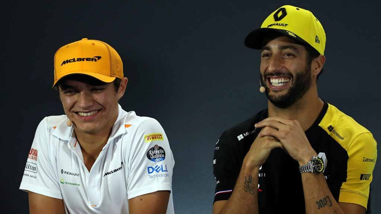 """""""He's not going to be tenths faster than Carlos""""- Lando Norris on competing against Daniel Ricciardo"""