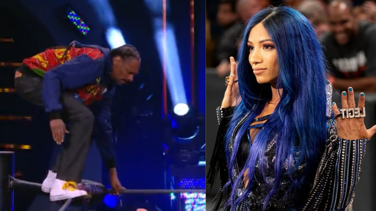 Sasha Banks shares conversation she had with Snoop Dogg after his Splash on AEW Dynamite