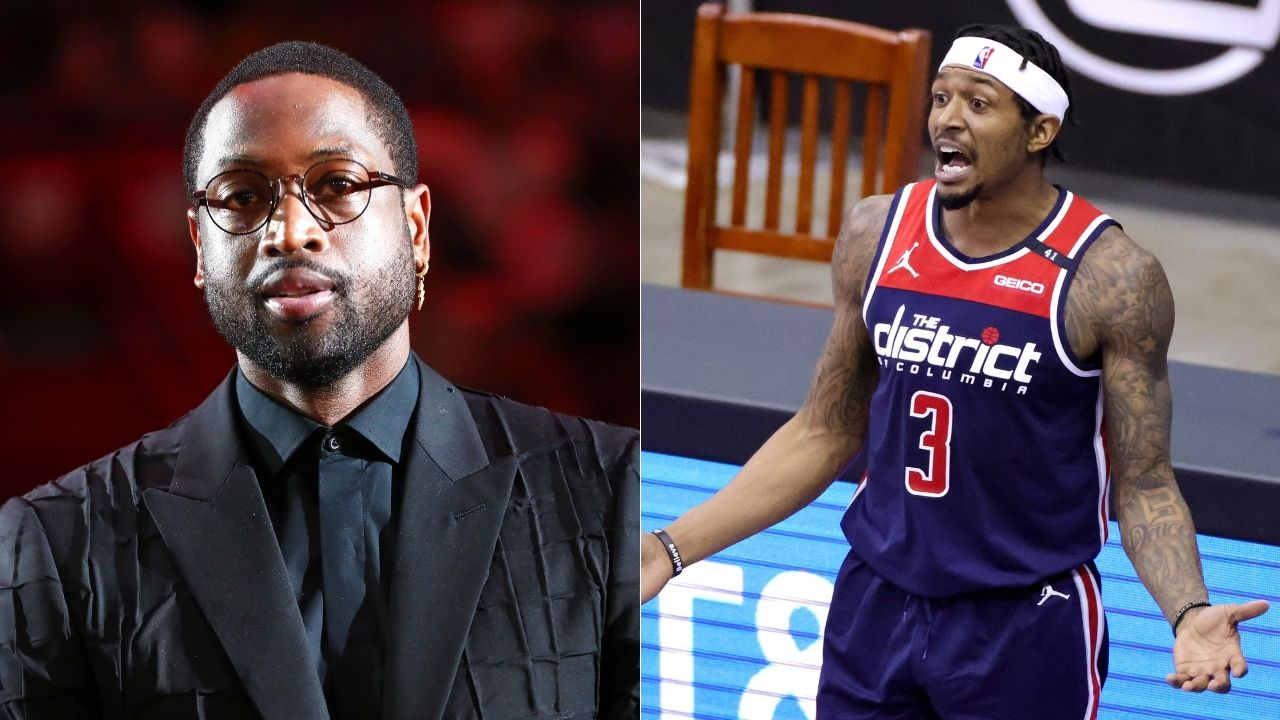 """Bro stop"": Dwyane Wade's hilarious response to potential trade rumors placing Bradley Beal on the Lakers alongside LeBron James"