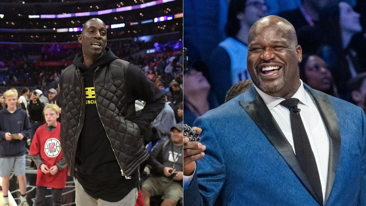 """""""Shaquille O'Neal was out of shape for a couple of years"""": Kevin Garnett roasts Bill Simmons for criticizing Lakers legend's fitness"""
