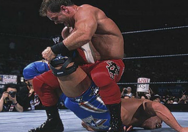 Kurt Angle says SmackDown match reminded him of clashes with Chris Benoit