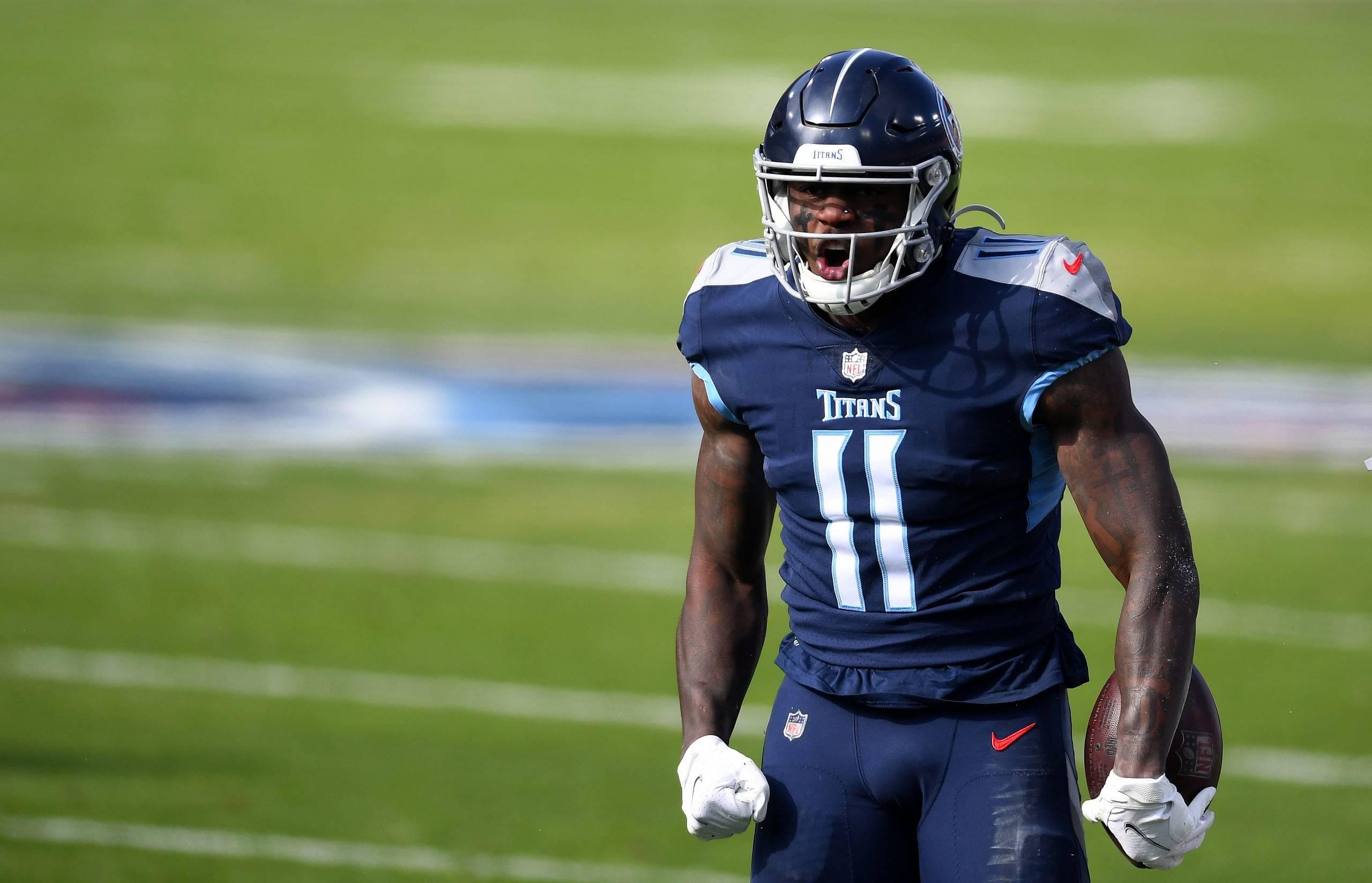 Titans vs. Ravens: Watch A.J. Brown Make Tough Touchdown Catch