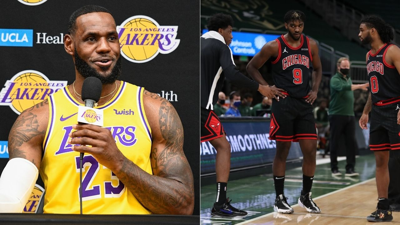 """""""Patrick Williams reminds me of Kawhi Leonard"""": LeBron James raves about Chicago Bulls rookie and compares him to Clippers star, following the Lakers win"""