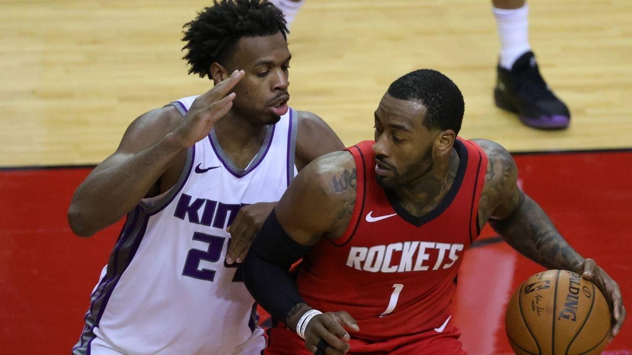 Wall makes Rockets debut in win over Kings