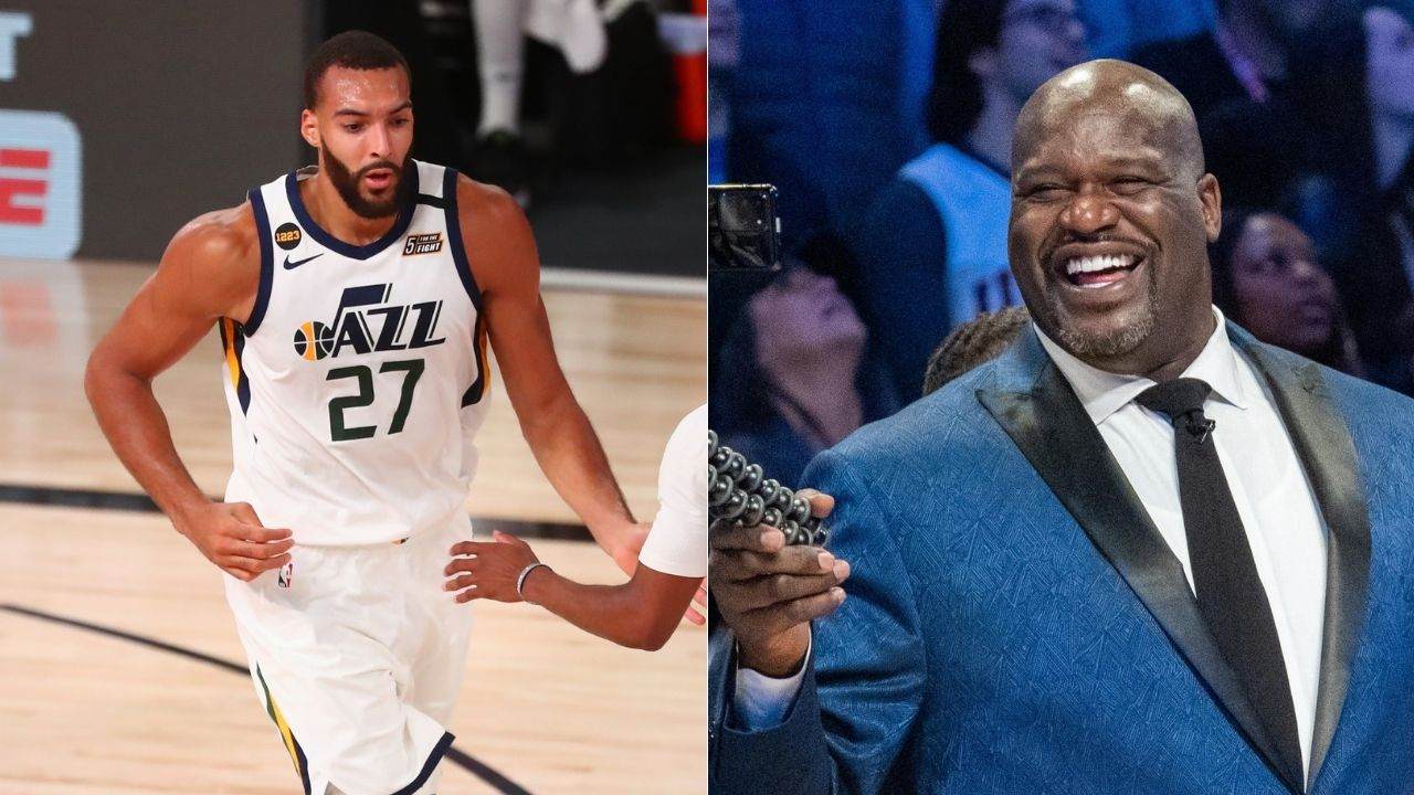 """""""Rudy Gobert is Baguette Biyombo"""": Lakers legend Shaquille O'Neal continues taking shots at Jazz star despite his call for a truce"""