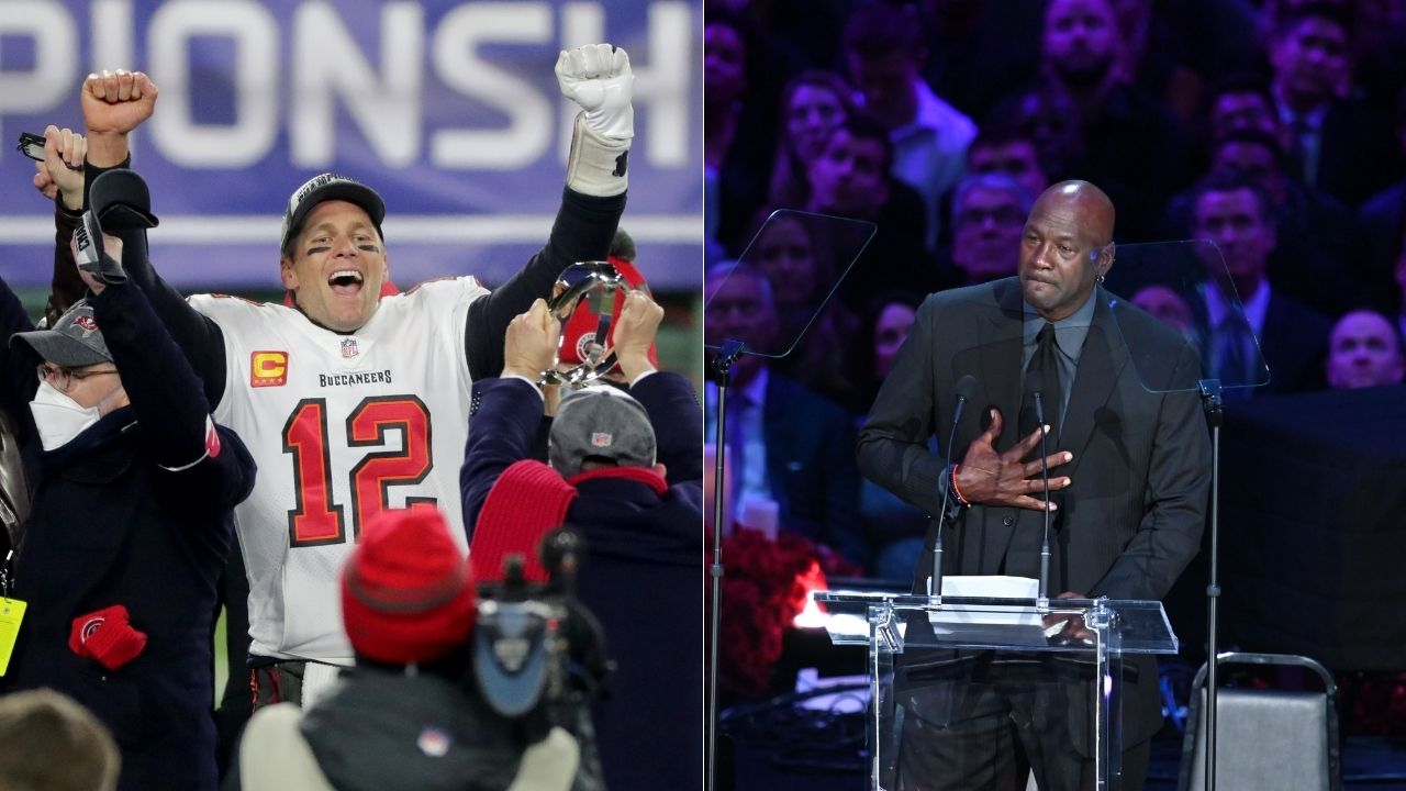 """""""Tom Brady has more clutch moments than Michael Jordan did"""": Skip Bayless comments on comparisons between the GOATs of the NFL and the NBA"""
