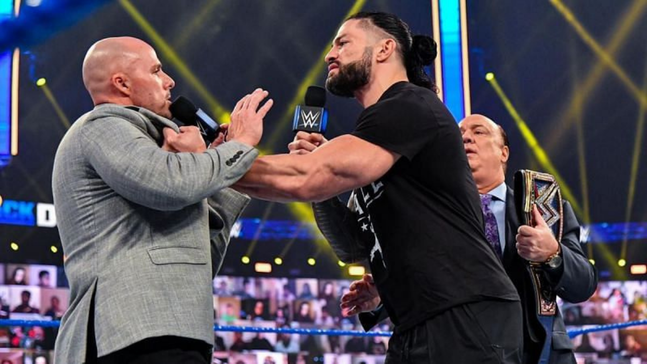 Roman Reigns may face this wrestler instead of Adam Pearce at Royal Rumble