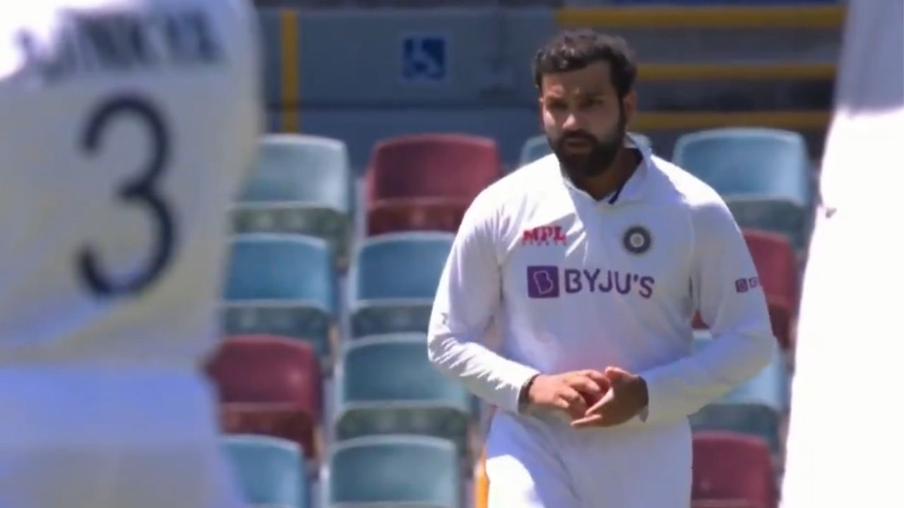 Rohit Sharma bowling: Watch Indian vice-captain bowls gentle medium-pace in Brisbane Test