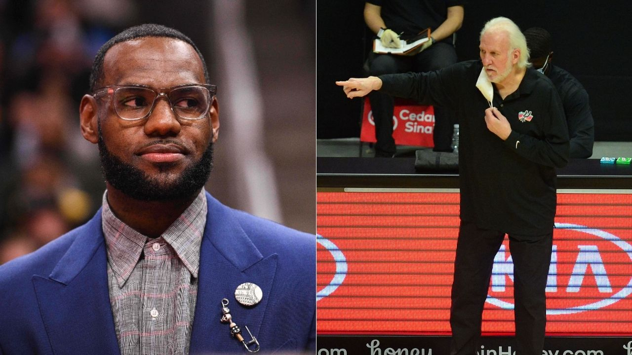 'LeBron James is not going to be what Muhammad Ali was': Gregg Popovich praises Lakers star's stances regarding social justice