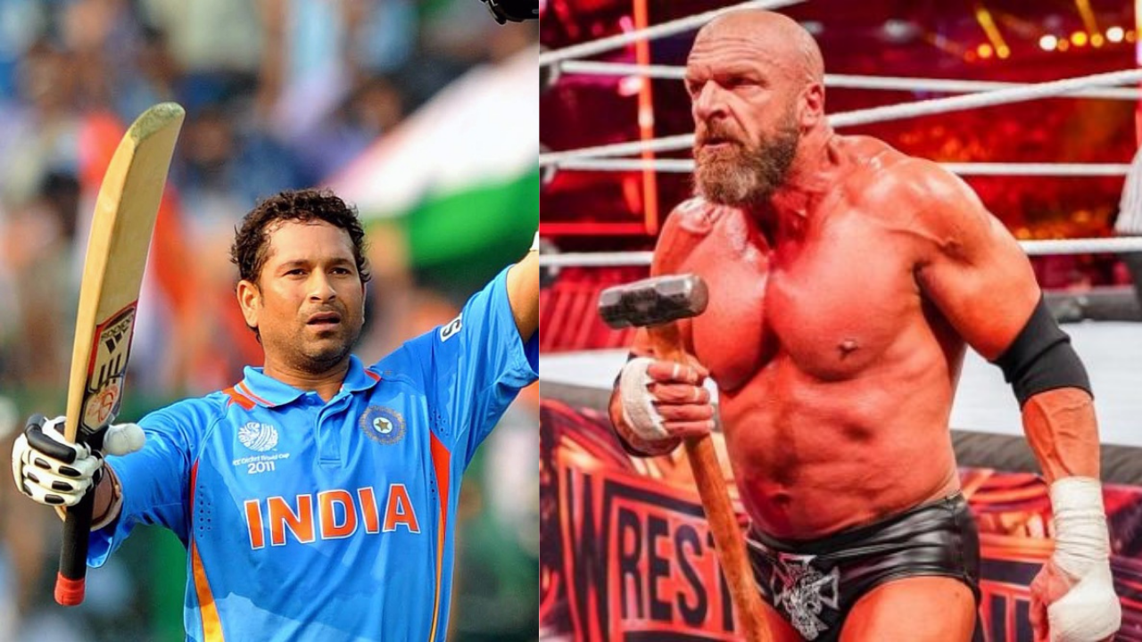 Triple H compares himself to Indian Legend when asked how would he fare at Cricket