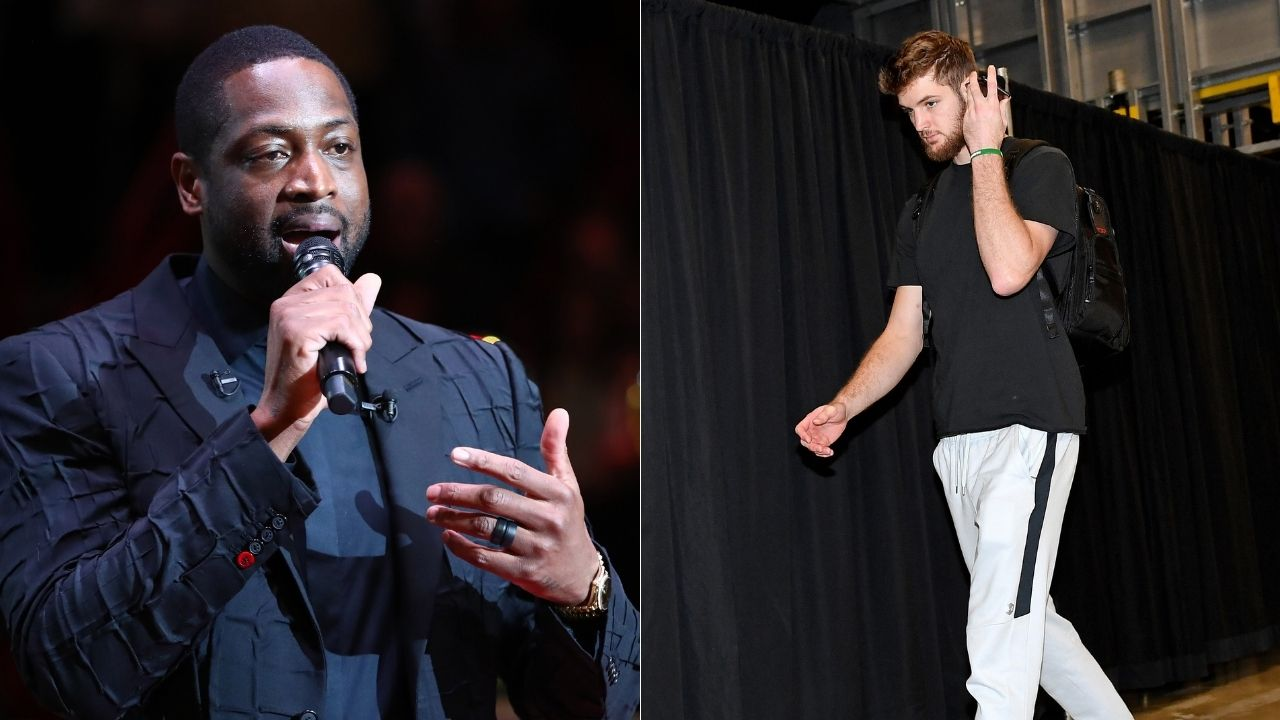 """""""Hope he has a better Cleveland career than me"""": Heat legend Dwyane Wade hilariously wishes good luck on Cavs career to Dean Wade"""