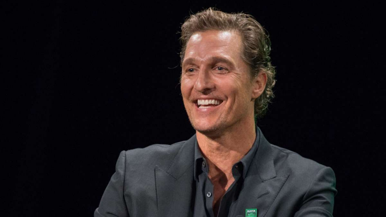 Matthew McConaughey teases plans to join the WWE