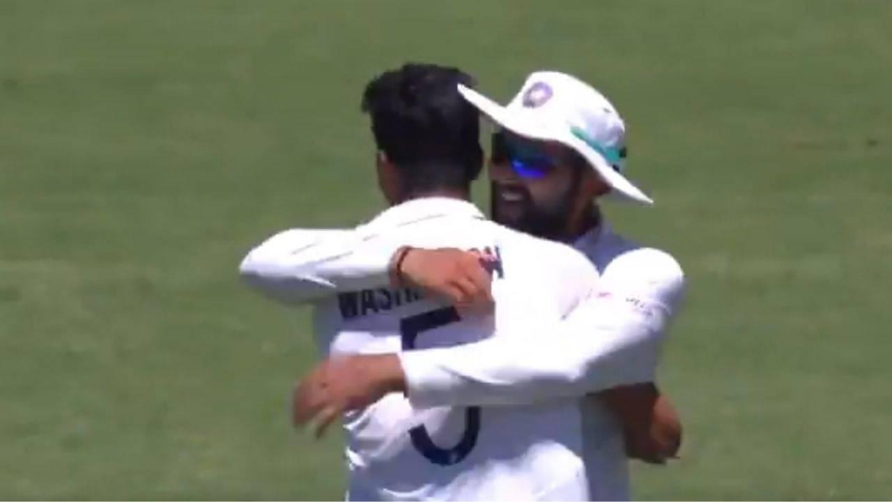 Washington Sundar bowling: Watch Sundar dismisses Steve Smith to pick maiden Test wicket at the Gabba