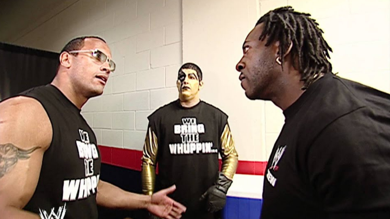 Booker T recalls working the Rock early on in his WWE career