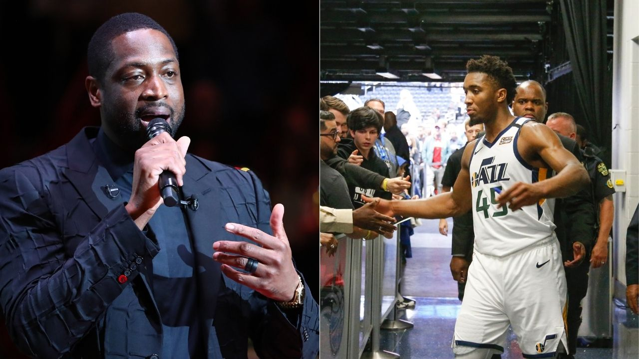 """""""Donovan Mitchell, our friendship papers are in the mail"""": Heat legend Dwyane Wade is aghast at Jazz star's 'perfect' PB&J combination"""