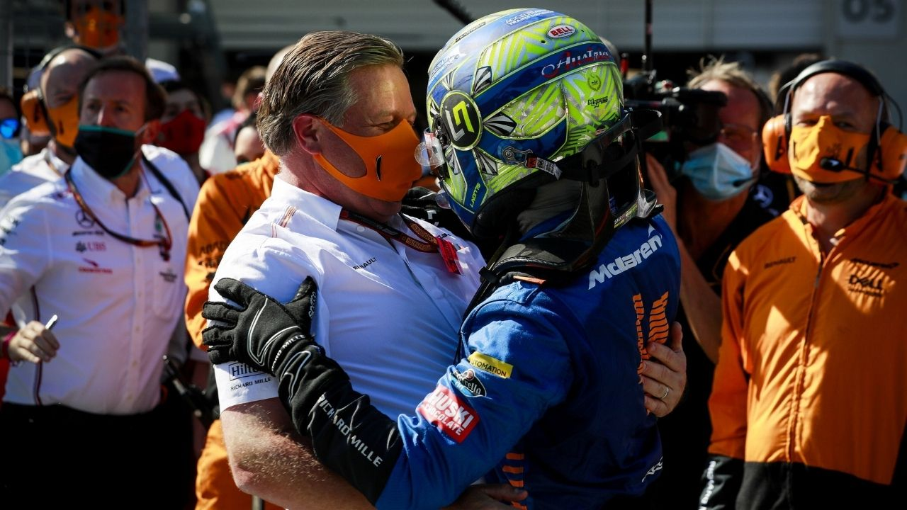 """We're very proud""- McLaren takes pride in Lando Norris mental health awareness work"