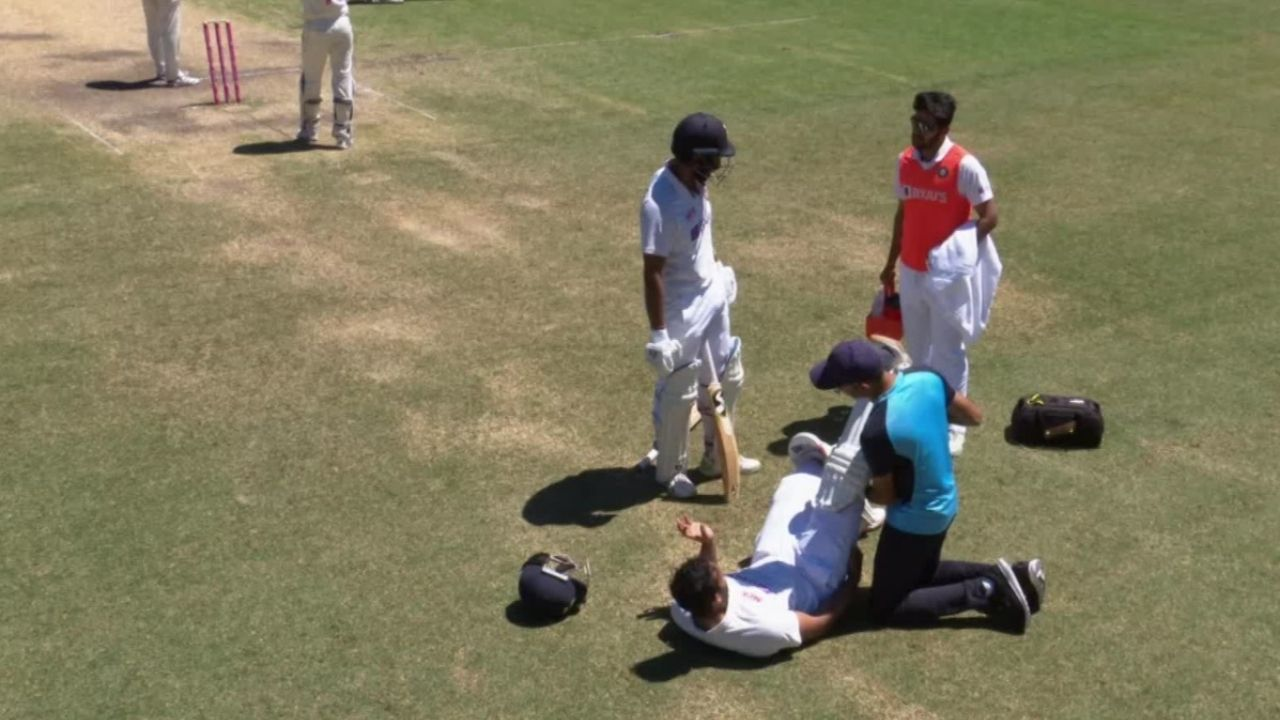 Hanuma Vihari injury: Indian batsman suffers hamstring niggle while running quick single in Sydney Test