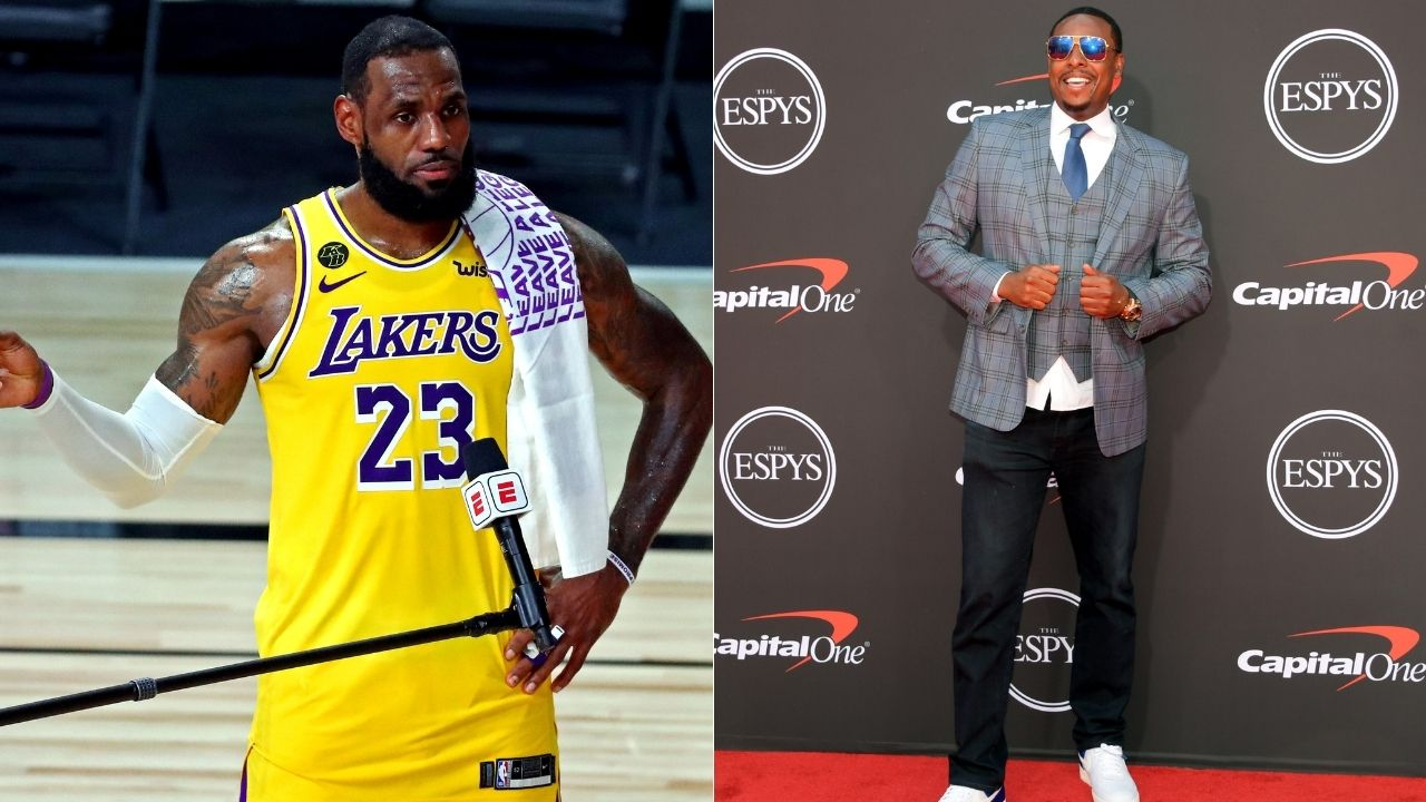 """Paul Pierce is a big-time LeBron James hater"": How the Lakers star and Celtics legend have fared in their rivalry over the years"